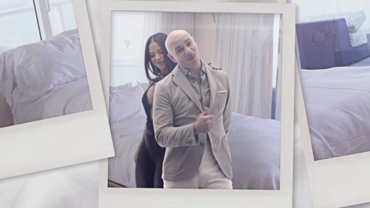See Pitbull, Enrique Iglesias in Slinky 'Messin' Around' Video