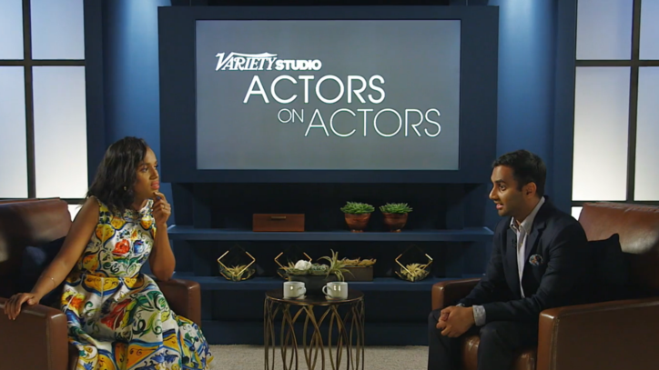 Aziz Ansari, Kerry Washington Talk Diversity: 'Every Industry is So White'