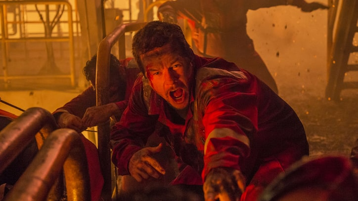 Watch Mark Wahlberg Fight Through the 'Deepwater Horizon' Disaster