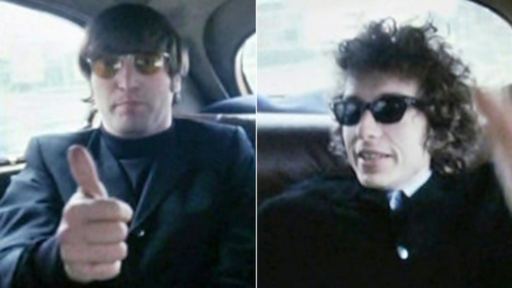 Remembering Bob Dylan and John Lennon's Drugged-Out Limo Ride