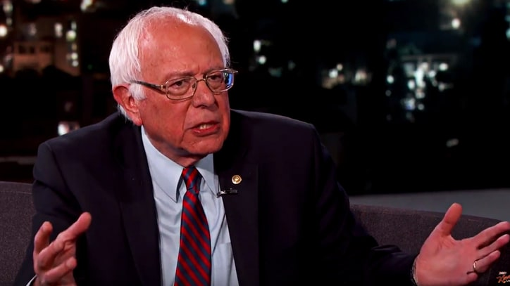 See Bernie Sanders Comment on Trump Debate on 'Kimmel'