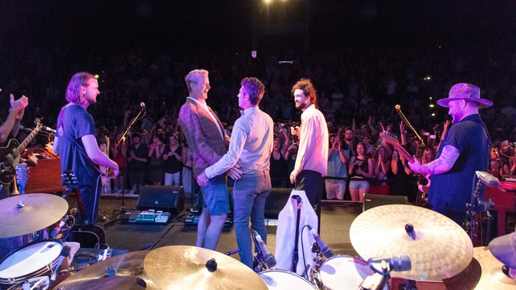 Watch Gay Couple Renew Vows Onstage at Edward Sharpe's North Carolina Show