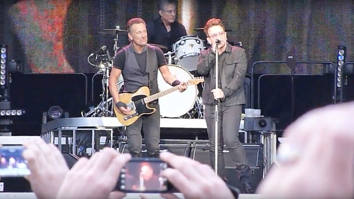 Watch Bruce Springsteen, Bono Perform 'Because the Night' in Dublin