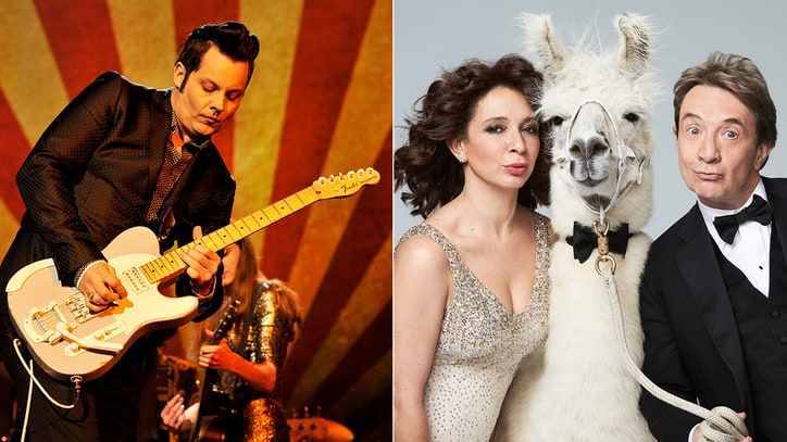 Hear Jack White's Theme for Maya Rudolph, Martin Short Variety Series