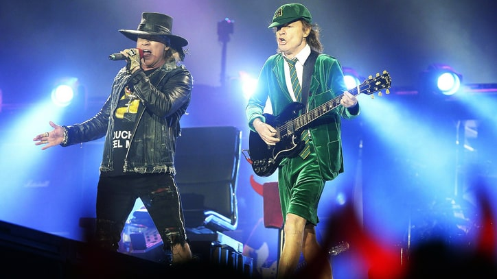 AC/DC With Axl Rose Lock Down U.S. Tour Dates