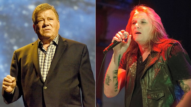 Sebastian Bach, William Shatner Engage in Bizarre Twitter Feud