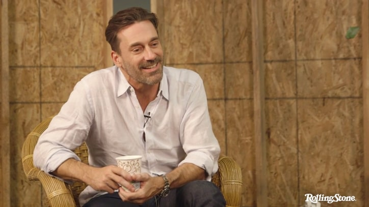Watch Jon Hamm Defend 'Worst Taste' in Music to Chris Gethard