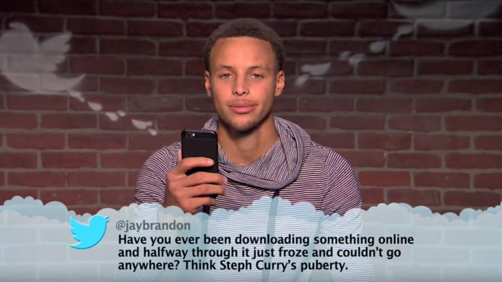 Watch Steph Curry, Klay Thompson, Shaq Read 'Mean Tweets'