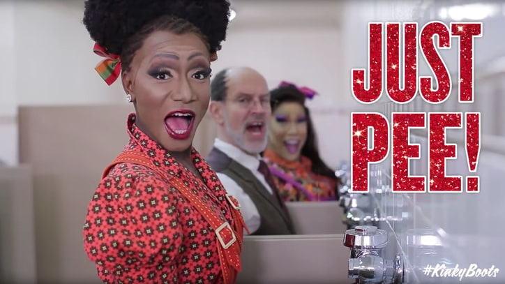 Cyndi Lauper, Harvey Fierstein Pen New 'Kinky Boots' Lyrics: 'Just Pee'