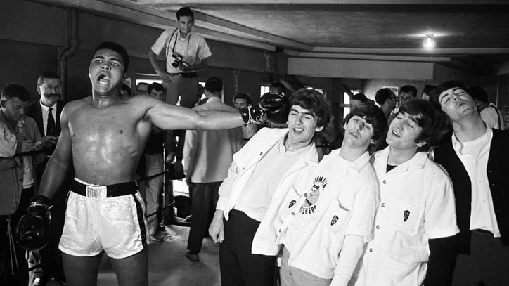Flashback: The Day Muhammad Ali Met the Beatles