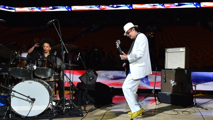 Watch Carlos Santana's 'Star-Spangled Banner' From NBA Finals' Game 2