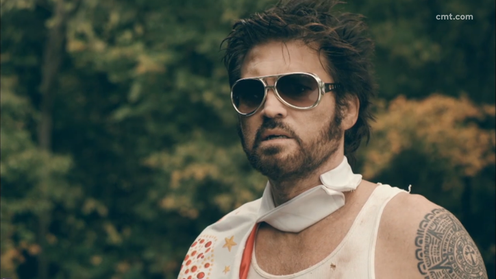 See Billy Ray Cyrus' Comical 'Hey Elvis' Video