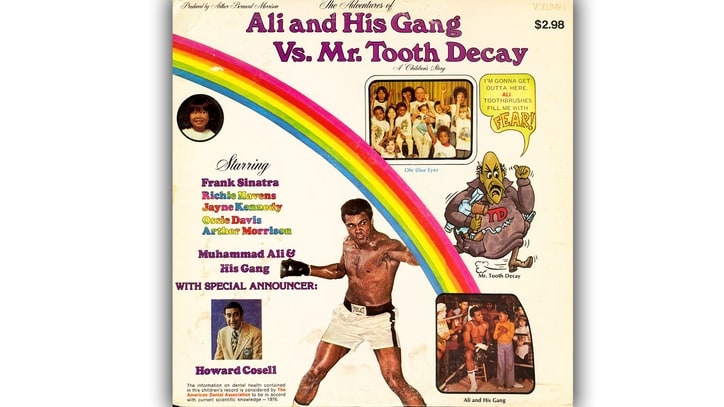 Remembering Muhammad Ali's Trippy, Anti-Cavity Kids' Record