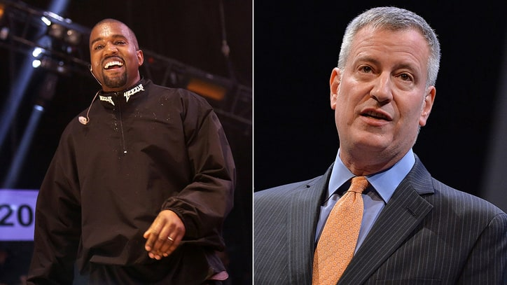 NYC Mayor to Kanye West: I'll Help You Throw 'Planned' Block Party