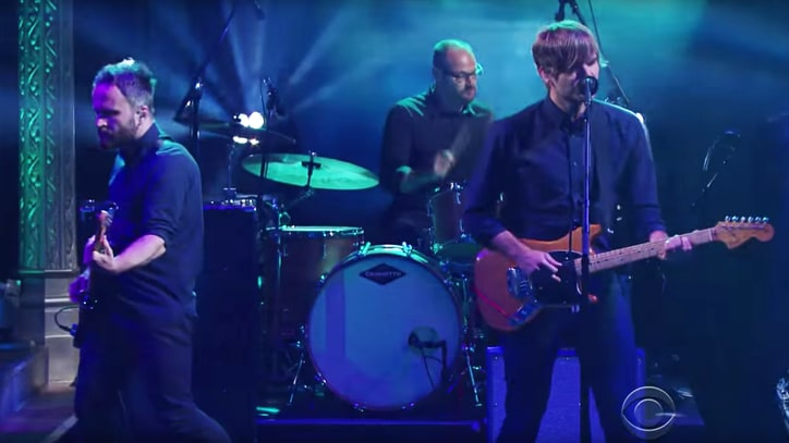 Watch Death Cab for Cutie's Soft 'No Room in Frame' on 'Colbert'