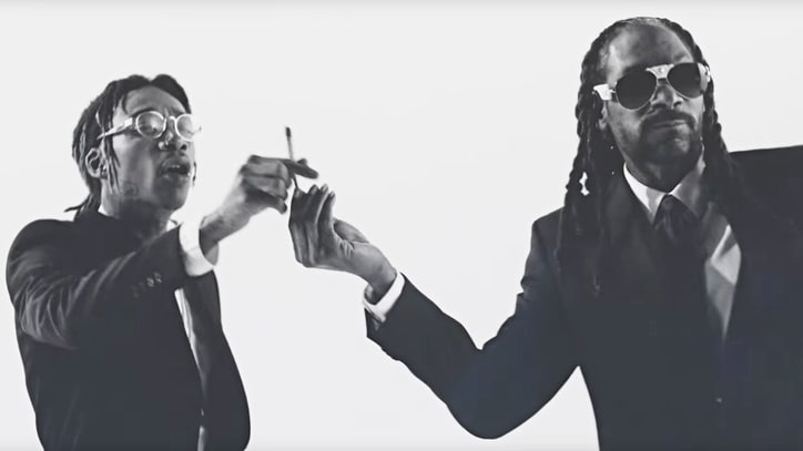 Watch Snoop Dogg, Wiz Khalifa Huff and Puff Through 'Kush Ups' Video