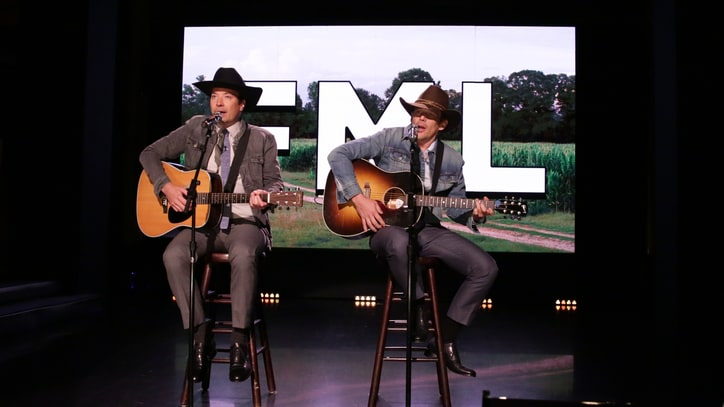 Watch Fallon, Ethan Hawke Croon Awkward Tales as 'FML Country Singers'