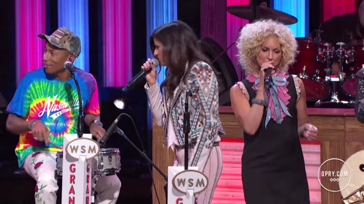 See Little Big Town, Pharrell Williams Team for Groovy 'C'mon'