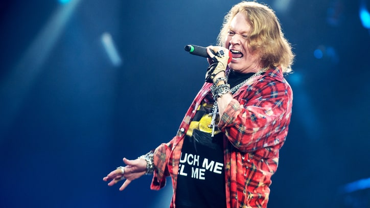 Axl Rose Talks New Music, Possible Memoir in Rare Interview