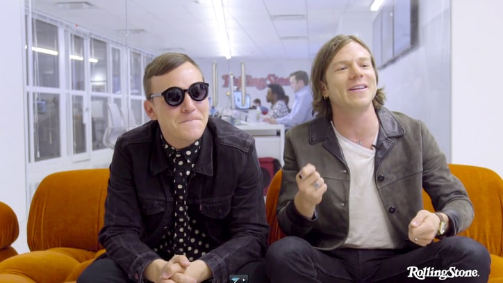 Watch Cage the Elephant Talk Dumpster-Diving for Instruments