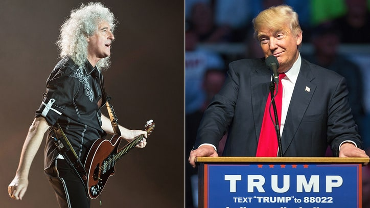 Queen's Brian May Denies Donald Trump's Usage of 'We Are The Champions'