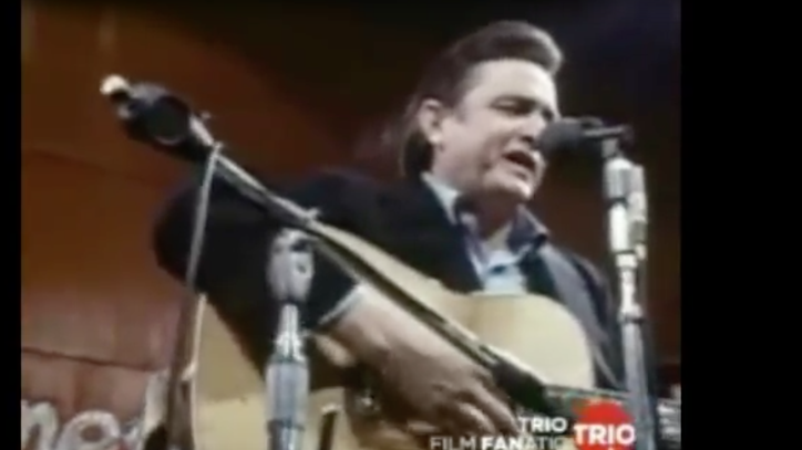 Flashback: See Johnny Cash Sing 'Wanted Man' at San Quentin Prison