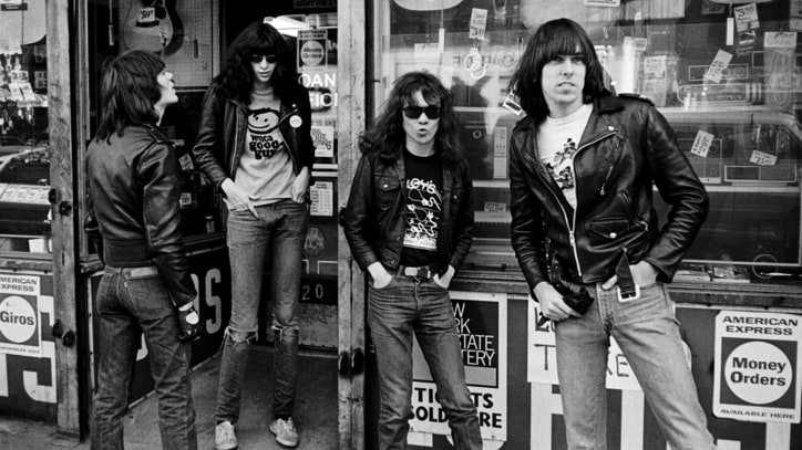 Ramones: See Rare Photos From Punks' Seventies Peak
