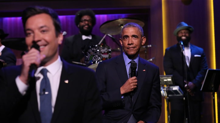 Obama Takes Trump 'Tonight Show' Jab: 'Orange Is Not the New Black'