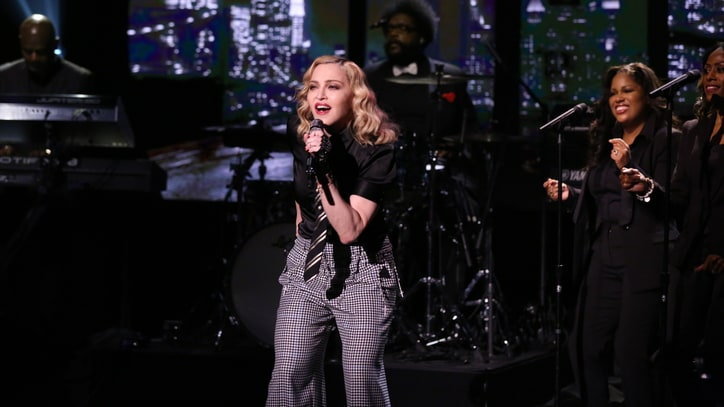 See Madonna Perform Classic 'Borderline' on 'Fallon'