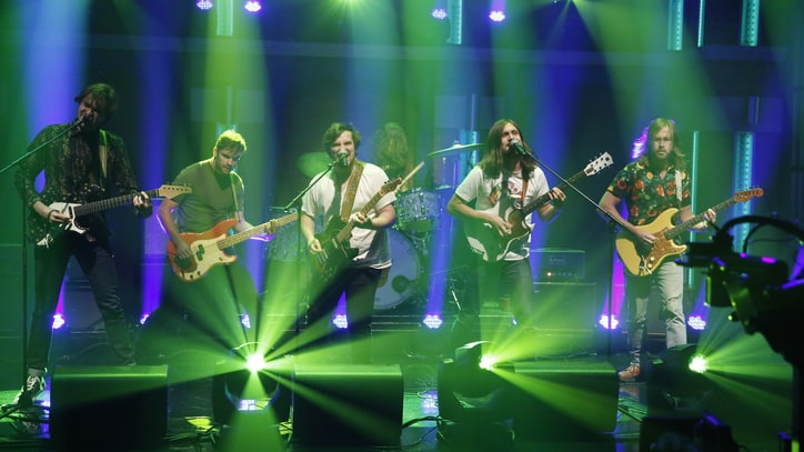See Diarrhea Planet's Visceral TV Debut on 'Seth Meyers'