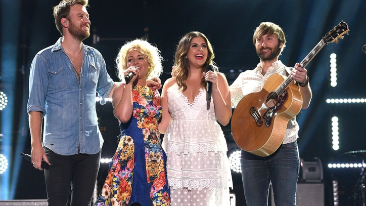 See Lady Antebellum Join Cam on Emotional 'Burning House'