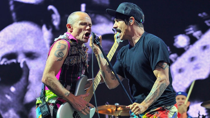 See Red Hot Chili Peppers Talk Special Pre-Show Rituals