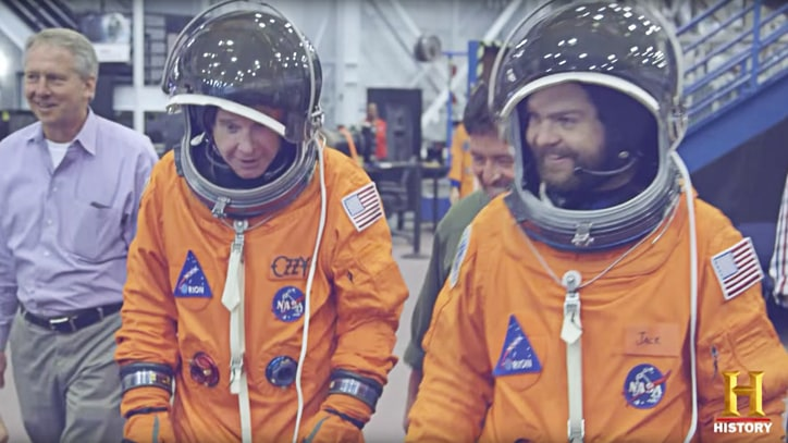 See Ozzy, Jack Osbourne Dress Like Astronauts in History Show Teaser