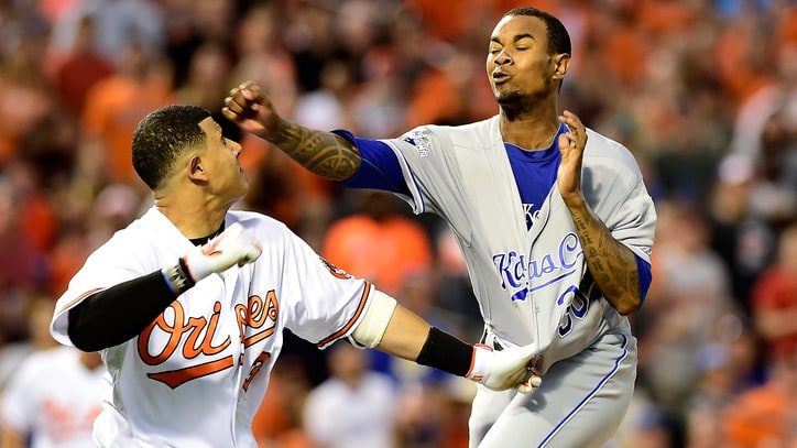 Manny Machado and Yordano Ventura Settle Beef in WWE Ring – Sort Of