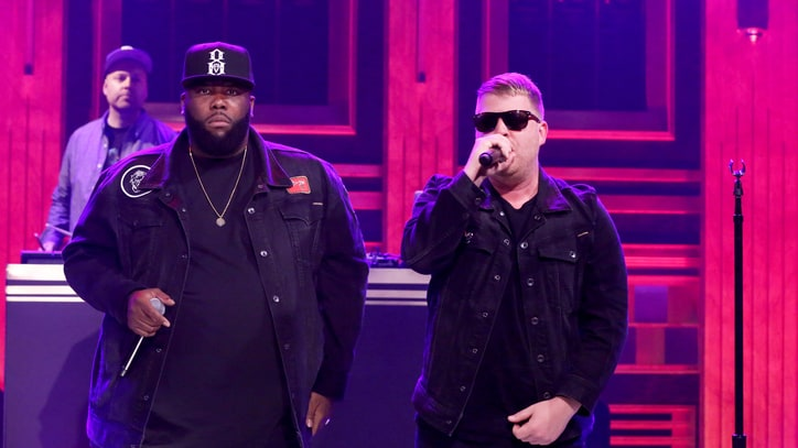 See DJ Shadow, Run the Jewels Perform Brassy 'Nobody Speak' on 'Fallon'