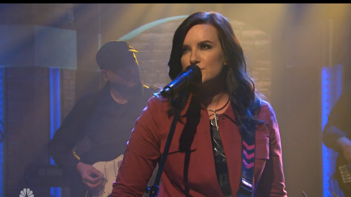 See Brandy Clark Sing Gutsy 'Girl Next Door' on 'Meyers'