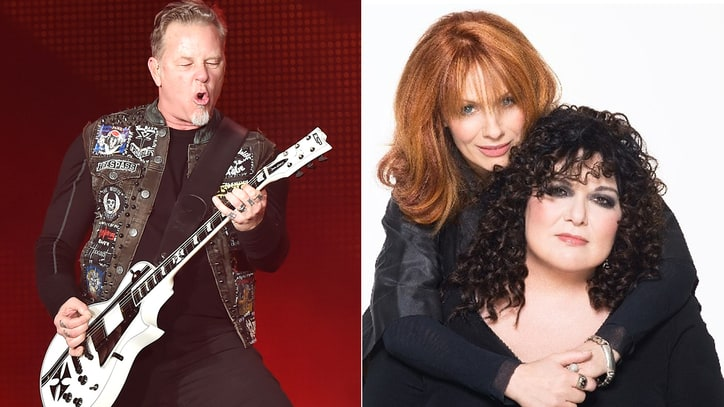 Hear Heart, James Hetfield Sing Jagged Duet 'Beautiful Broken'