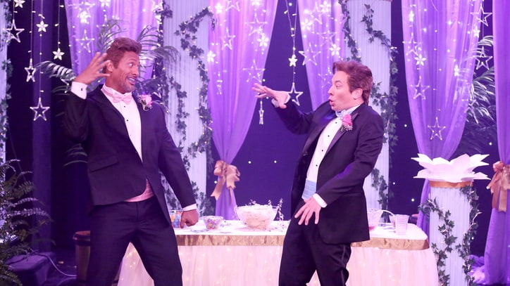 Watch Fallon, Dwayne Johnson as Awkward 'Ermahgerd Prom Guys'