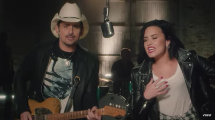 See Brad Paisley and Demi Lovato's Playful 'Without a Fight' Video