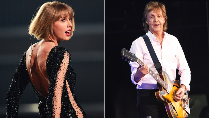 Taylor Swift, McCartney Sign Petition for Digital Copyright Reform
