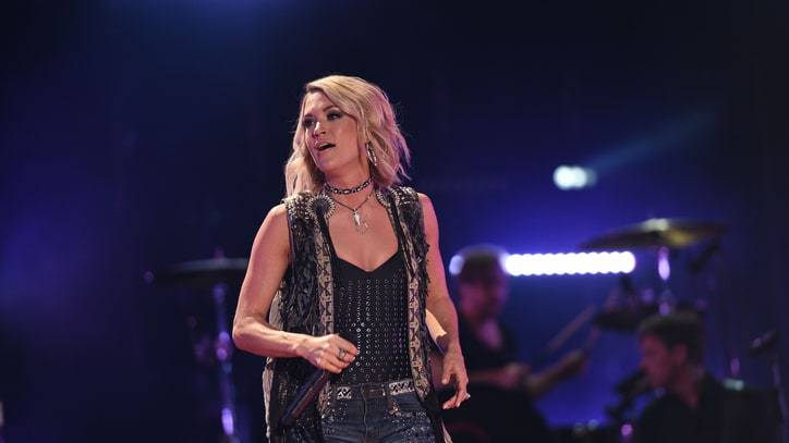 Carrie Underwood Records a New 'Sunday Night Football' Theme Song