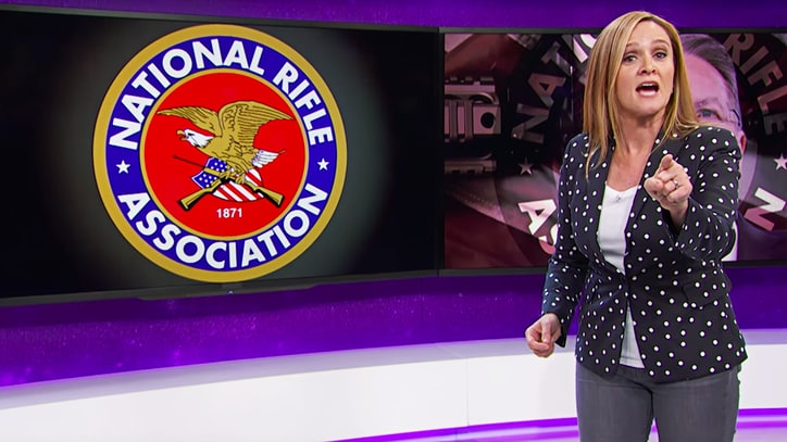 Samantha Bee Continues to Roast N.R.A. Over Role in Gun Control Debate