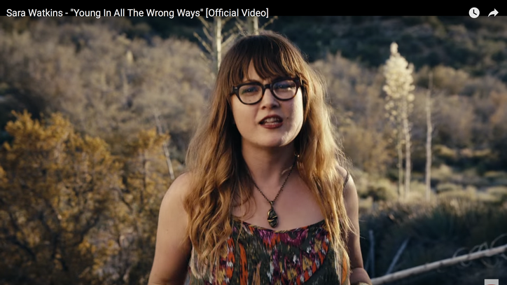 See Sara Watkins' Wistful 'Young in All the Wrong Ways' Video