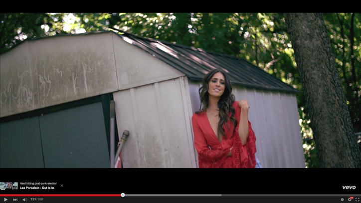 See Kelleigh Bannen's Scorching 'Landlocked' Video