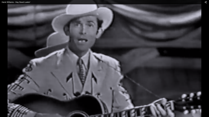 Flashback: Hank Williams Serenades June Carter With 'Hey, Good Lookin''