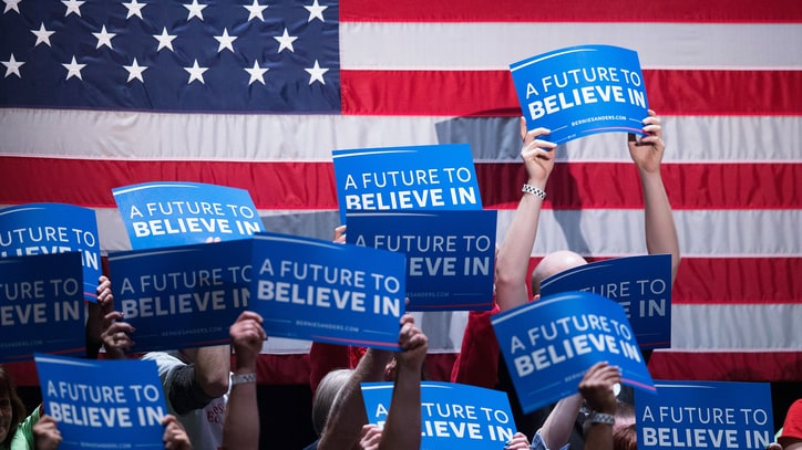 The Political Convention Where Bernie's Revolution Reigns