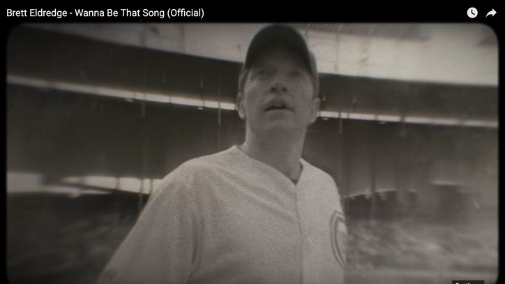 See Brett Eldredge Round Wrigley in 'Wanna Be That Song' Video