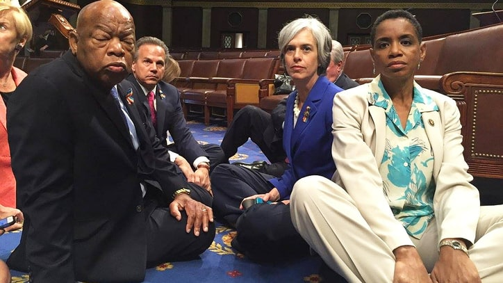 10 Powerful Moments From the Congressional Gun Sit-In
