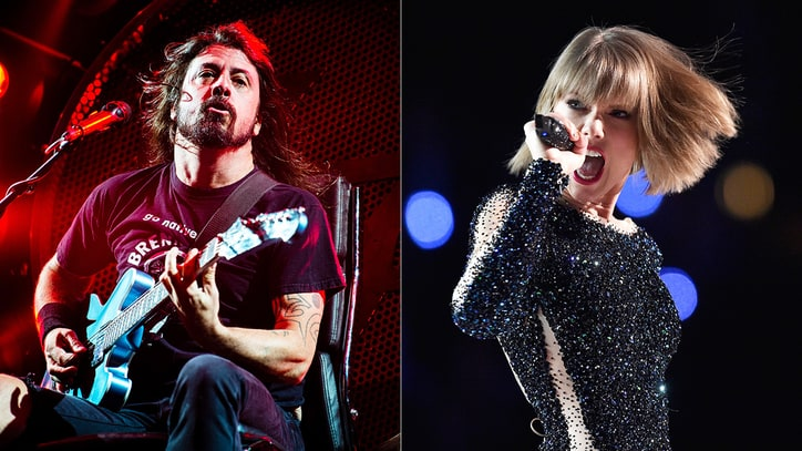 Watch Dave Grohl Play 'Best of You,' Call Taylor Swift 'Batman'