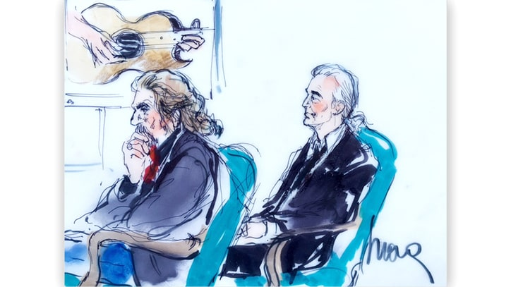 Led Zeppelin 'Stairway' Verdict: Inside the Courtroom on Trial's Last Day